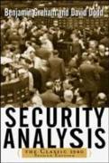 Cover-Bild zu Security Analysis: The Classic 1940 Edition (eBook) von Dodd, David
