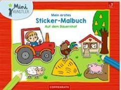 Cover-Bild zu Mein erstes Sticker-Malbuch von Engelen, Anita (Illustr.)