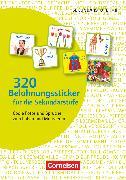 Cover-Bild zu 320 Belohnungssticker für die Sekundarstufe, Coole Fotos und Sprüche zum Loben und Motivieren, 8 Stickerbögen