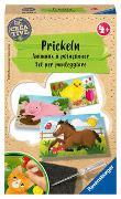 Cover-Bild zu Ravensburger 18229 Be Creative Prickeln, DIY für Kinder ab 4 Jahren
