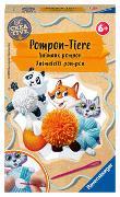 Cover-Bild zu Ravensburger 18063 Be Creative Pompon-Tiere, DIY für Kinder ab 6 Jahren