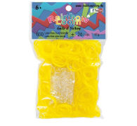 Cover-Bild zu Rainbow Loom Gummibänder Gelb Jelly
