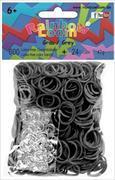 Cover-Bild zu Rainbow Loom Gummibänder Grau Opaque