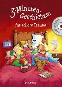 Cover-Bild zu 3-Minuten-Geschichten für schöne Träume mit CD zum Zuhören von gondolino Vorlesen (Hrsg.)