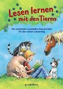 Cover-Bild zu Lesen lernen mit den Tieren von gondolino Lesenlernen (Hrsg.)