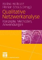 Cover-Bild zu Qualitative Netzwerkanalyse