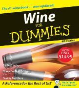 Cover-Bild zu Wine for Dummies CD 4th Edition