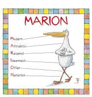 Cover-Bild zu Namenskalender Marion