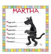 Cover-Bild zu Namenskalender Martha