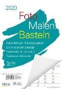Cover-Bild zu Foto-Malen-Basteln A4 weiß Notice 2020