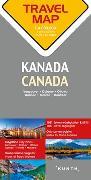 Cover-Bild zu Reisekarte Kanada 1:4 Mio. 1:4'000'000