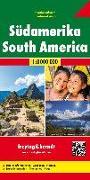 Cover-Bild zu Südamerika, Kontinentkarte 1:8 Mio. 1:8'000'000 von Freytag-Berndt und Artaria KG (Hrsg.)