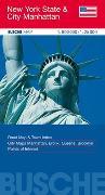Cover-Bild zu USA New York State & City Manhattan. 1:800'000 von Busche Verlagsgesellschaft mbH (Hrsg.)