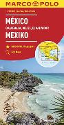 Cover-Bild zu MARCO POLO Kontinentalkarte Mexiko, Guatemala, Belize, El Salvador 1: 2 500 000. 1:2'500'000