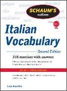 Cover-Bild zu Schaum's Outline of Italian Vocabulary