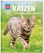 Cover-Bild zu WAS IST WAS Band 59 Katzen. Flinke Jäger auf Samtpfoten von Aurahs, Jutta