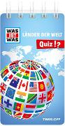 Cover-Bild zu WAS IST WAS Quiz Länder der Welt von Langbein, Carolin