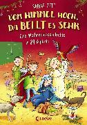 Cover-Bild zu Vom Himmel hoch, da bellt es sehr - Eine Weihnachtsgeschichte in 24 Kapiteln (eBook) von Zett, Sabine