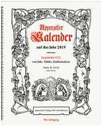Appenzeller Kalender 2019 von König, Christine