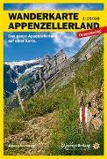 Wanderkarte Appenzellerland. 1:25'000 von VAW (Hrsg.)