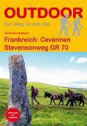 Frankreich: Cevennen Stevensonweg GR 70. 1:100'000 von Kämper, Véronique