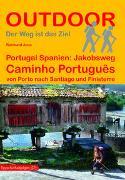 Portugal Spanien: Jakobsweg Caminho Português. 1:100'000 von Joos, Raimund