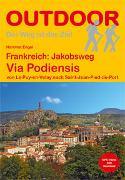 Frankreich: Jakobsweg Via Podiensis. 1:150'000 von Engel, Hartmut