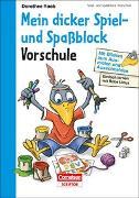 Cover-Bild zu Einfach lernen mit Rabe Linus - Mein dicker Spiel- und Spaßblock von Raab, Dorothee