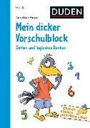 Cover-Bild zu Einfach lernen mit Rabe Linus - Mein dicker Vorschulblock: Zahlen und logisches Denken von Raab, Dorothee