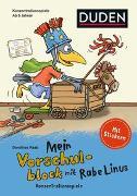 Cover-Bild zu Mein Vorschulblock mit Rabe Linus (2) - Konzentrationsspiele von Raab, Dorothee