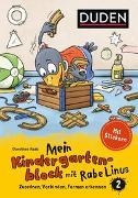 Cover-Bild zu Mein Kindergartenblock mit Rabe Linus (2) - Zuordnen, Verbinden, Formen erkennen von Raab, Dorothee