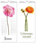 Cover-Bild zu Geburtstagskalender Floral Art
