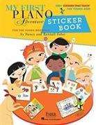 Cover-Bild zu My First Piano Adventure Sticker Book von Faber, Nancy