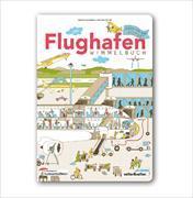 Cover-Bild zu Das Flughafen Wimmelbuch