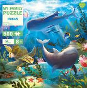 Cover-Bild zu My Family Puzzle - Ocean von Palmer, Jenny (Illustr.)