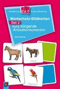 Cover-Bild zu Bausteine zur DaZ- und Sprachförderung: Wortschatz-Bildkarten - Set 2: kurz klingende Anlautkonsonanten von Doering, Sabine
