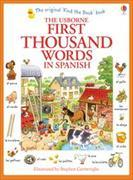 Cover-Bild zu First Thousand Words in Spanish