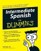 Cover-Bild zu Intermediate Spanish For Dummies