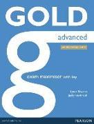Cover-Bild zu New Gold Advanced 2015 Exam Maximiser w/ online audio (with key) von Edwards, Lynda