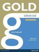 Cover-Bild zu New Gold Advanced 2015 Coursebook w/ online audio von Thomas, Amanda