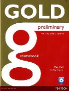 Cover-Bild zu New Gold Preliminary Coursebook with CD-ROM Pack von Walsh, Clare