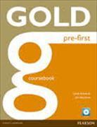 Cover-Bild zu New Gold Pre-First Coursebook and CD-ROM Pack von Edwards, Lynda