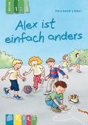 Cover-Bild zu Alex ist einfach anders - Lesestufe 1 von Eckert, Petra Bartoli y