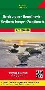 Nordeuropa - Skandinavien, Straßenkarte 1:2 Mio. 1:2'000'000 von Freytag-Berndt und Artaria KG (Hrsg.)