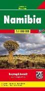Namibia, Autokarte 1:1 Mio. 1:1'000'000 von Freytag-Berndt und Ataria KG (Hrsg.)