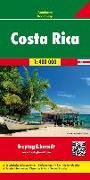 Costa Rica, Autokarte 1:400.000. 1:400'000 von Freytag-Berndt und ARTARIA (Hrsg.)