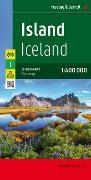 Island, Straßenkarte 1:400.000. 1:400'000 von Freytag-Berndt und Artaria KG (Hrsg.)