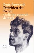 Cover-Bild zu Definition der Poesie von Paternak, Boris