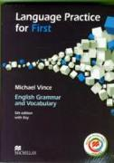 Language Practice for First 5th Edition Student's Book and MPO with key Pack von Vince, Michael