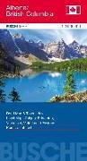 Cover-Bild zu Canada Alberta/British Columbia. 1:2'000'000